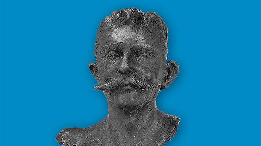 Büste Pierre de Coubertin