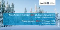 Termine Winterferien Thüringen 2021