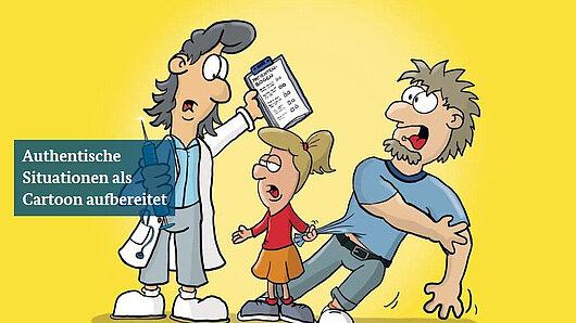 Cartoon: Arztgespräch