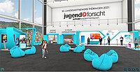Blick in die virtuelle Ausstellung Jugend forscht