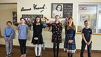 Schüler:innen der Anne Frank Grundschule