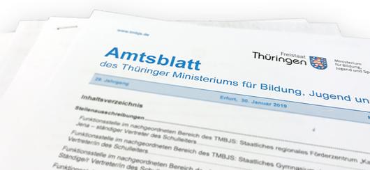 Screenshot Amtsblatt