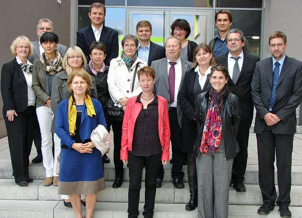 Eröffnung des Comenius-Regio-Projekts AuverThur' am 8. Oktober 2013 im SBSZ Jena-Göschwitz