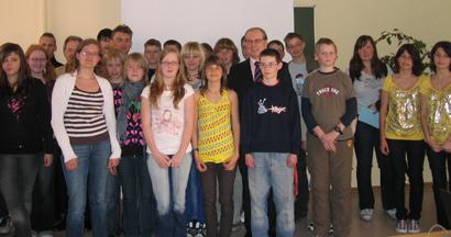 Besuch im Salza-Gymnasium Bad Langensalza