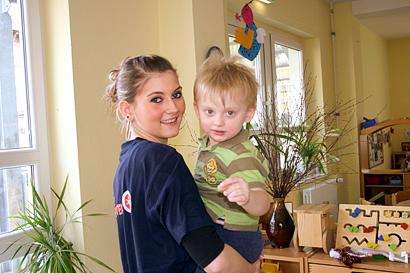 Betreuung von Kindern in Kindertagesstätten