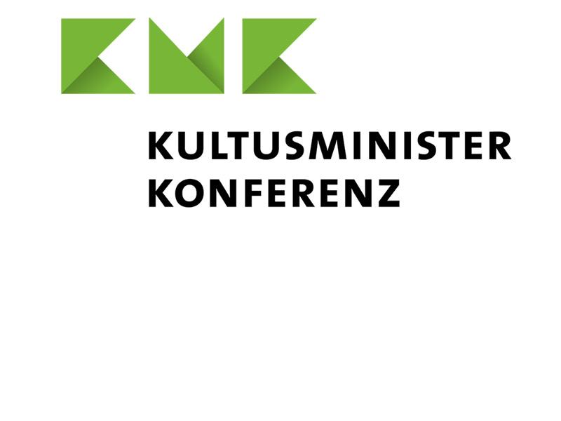 Logo dr Kultusministerkonferenz bestehend aus grünen Buchstaben KMK