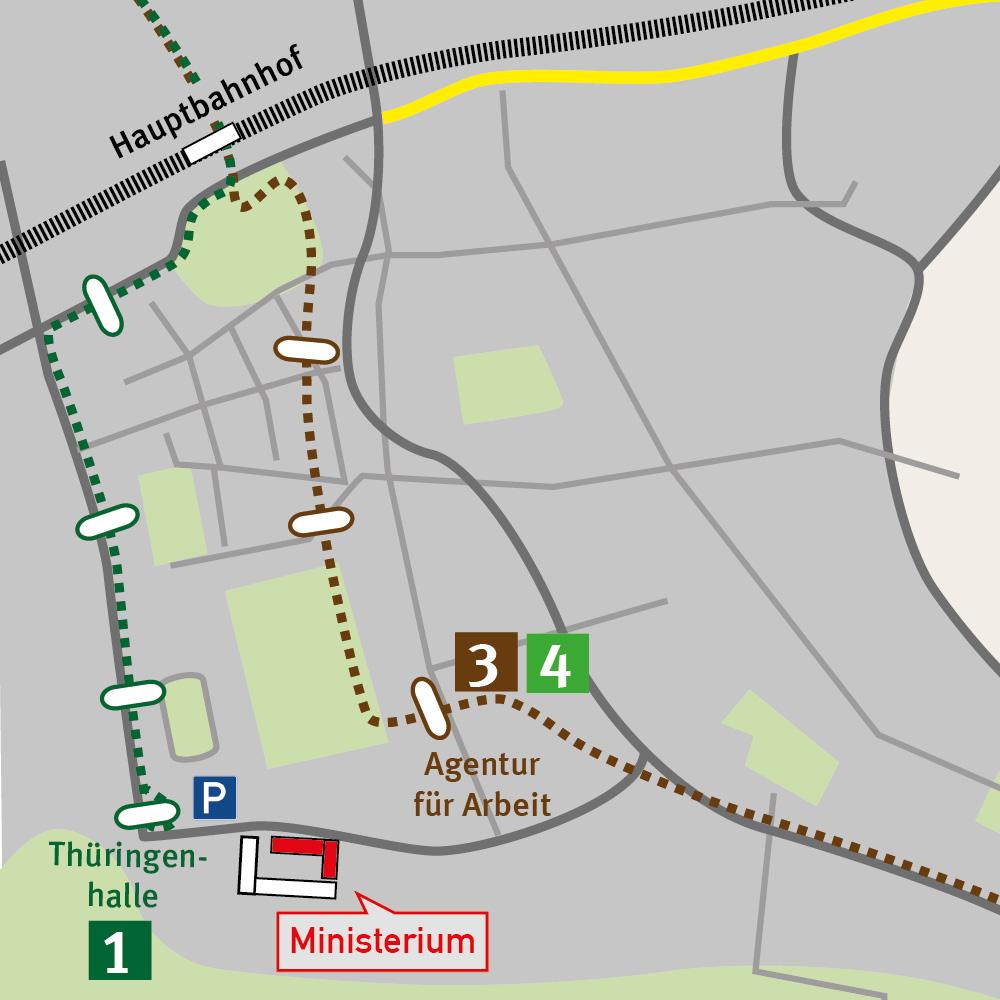 Stadtplan Erfurt 02