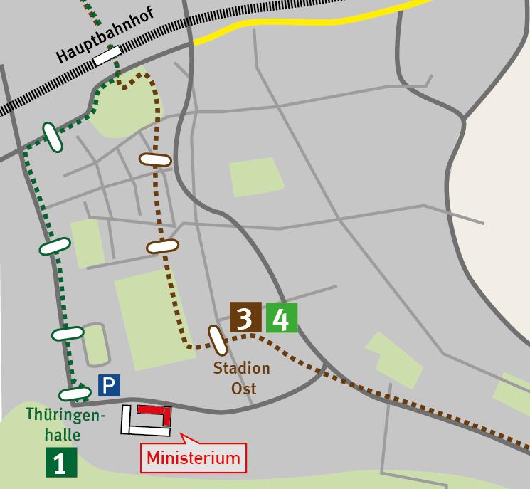 Anfahrtsskizze Erfurt 2
