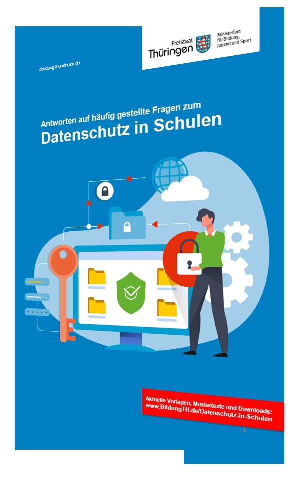 Cover: Datenschutz in Schulen