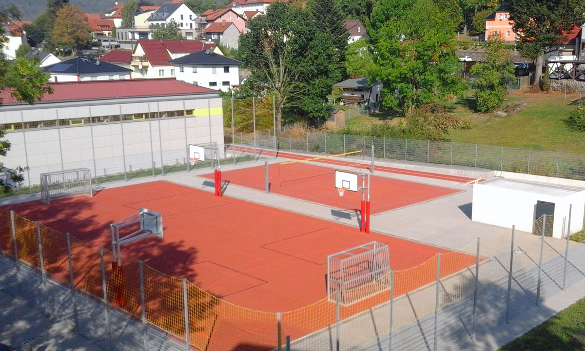 Sportanlage in Zella-Mehlis