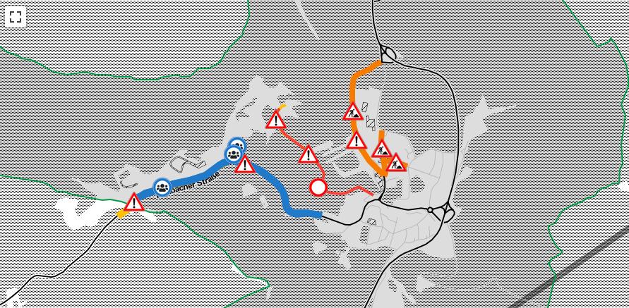 Eine Karte von Oberhof